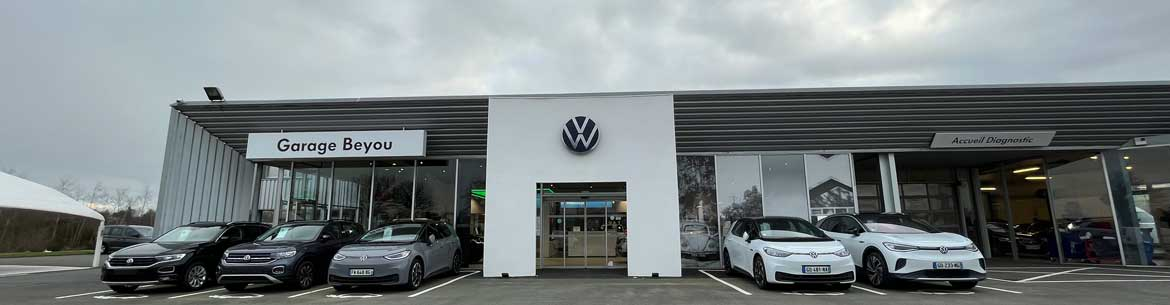 Photo de la concession Garage Beyou Volkswagen à Guingamp